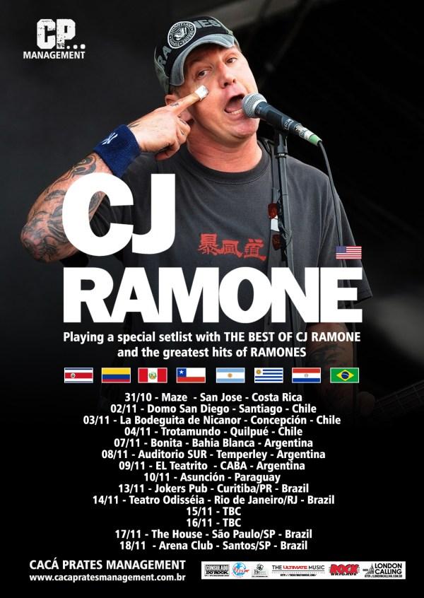 CJ Ramone no Brasil