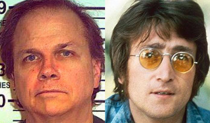 Mark Chapman e John Lennon