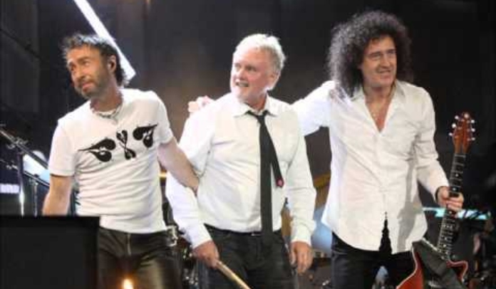 Paul Rodgers com o Queen