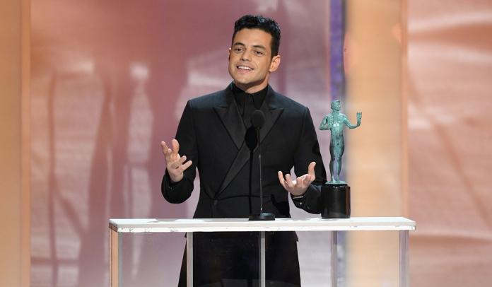 Rami Malek é premiado como melhor ator no SAG Awards