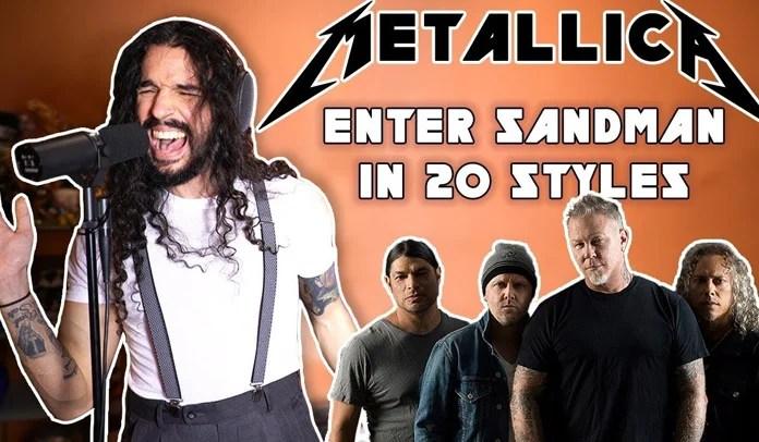 "Metallica: e se os Beatles, Doors ou David Bowie cantassem ""Enter Sandman""?"