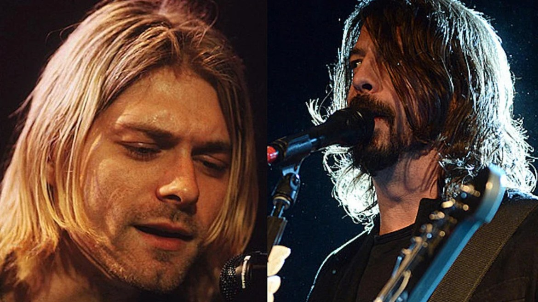 Kurt Cobain sabia que Dave Grohl cantava bem