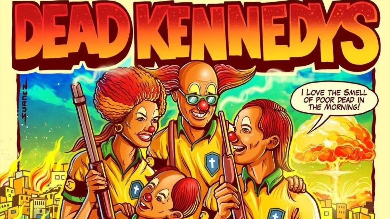 Dead Kennedys pôster polêmico