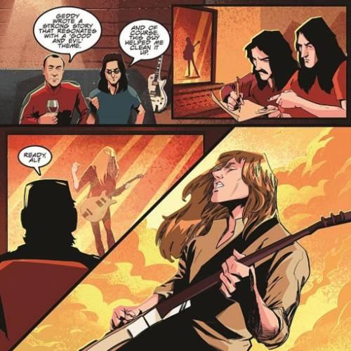 Rush história em quadrinhos