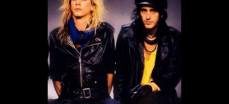 Duff McKagan e Izzy Stradlin