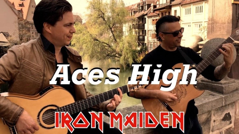 """""""Aces High"""" ganha cover versão flamenco"""