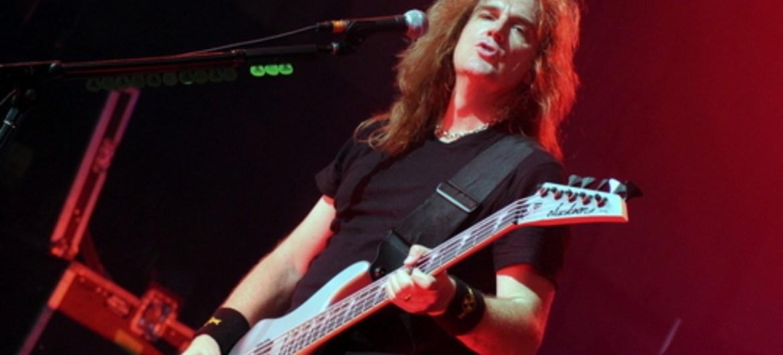 David Ellefson é assalariado no Megadeth