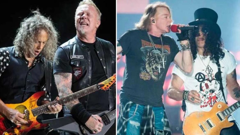 Metallica e Guns N' Roses estão na lista da Forbes de celebridades mais bem pagas da Forbes
