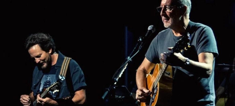 The Who e Eddie Vedder se apresentam juntos