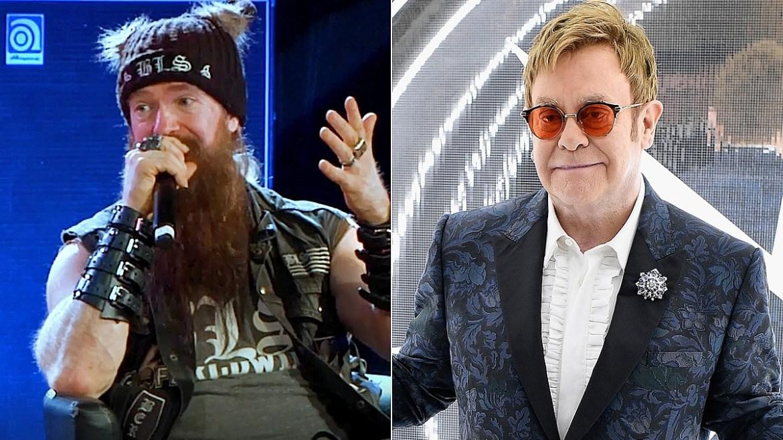 Zakk Wylde conta como foi conhecer Elton John