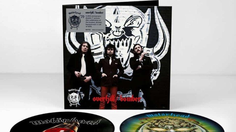 Motörhead faz unboxing do box com Bomber e Overkill