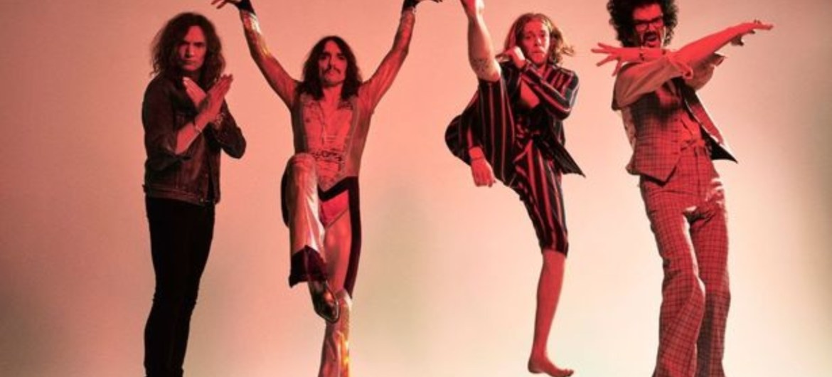"The Darkness lança novo single ""Heart Explodes"""