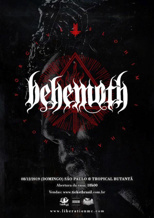 Behemoth anuncia show único no Brasil em dezembro