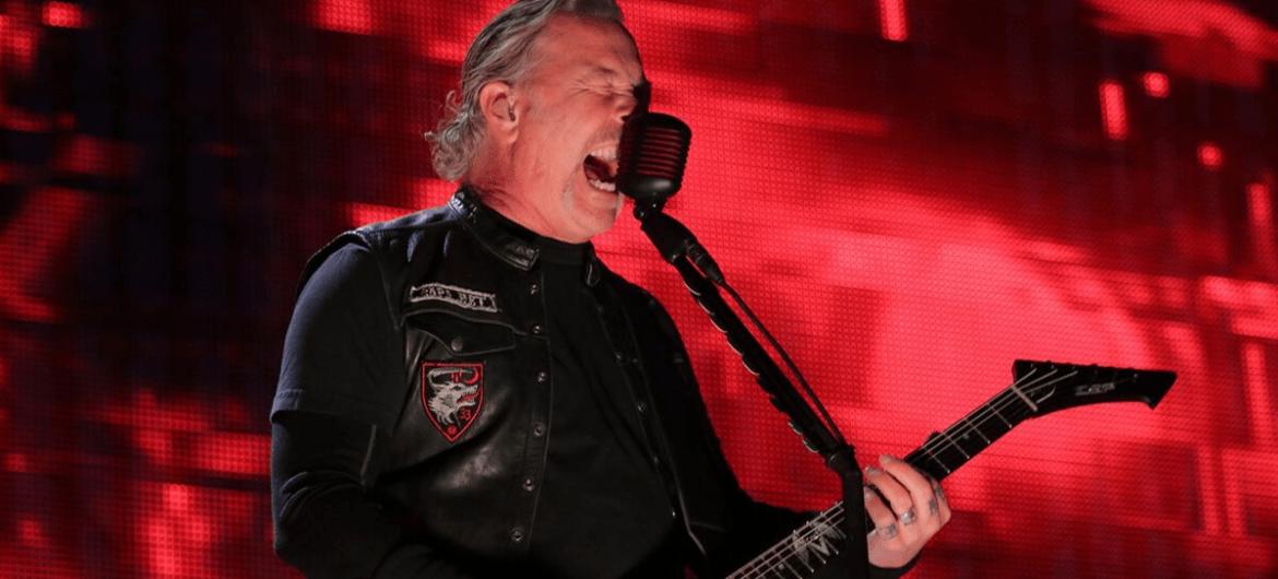 James Hetfield do Metallica