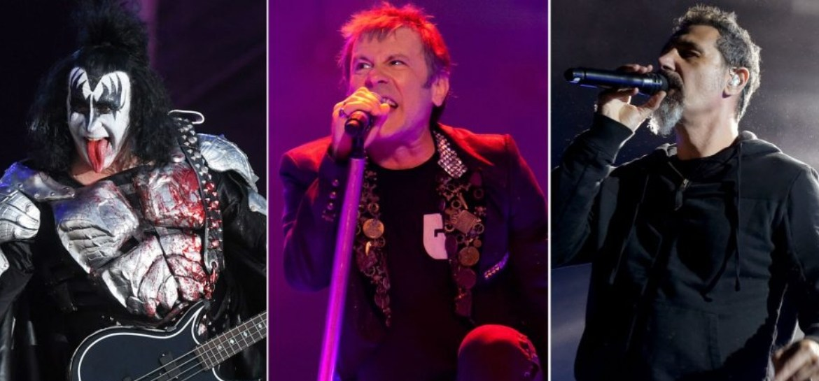 Download Festival 2020 confirma Iron Maiden, Kiss e System of a Down