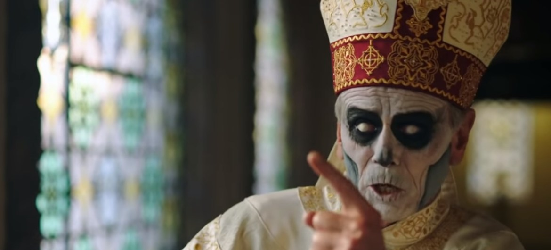 "Ghost lança blasfêmia ""Mary On A Cross"""
