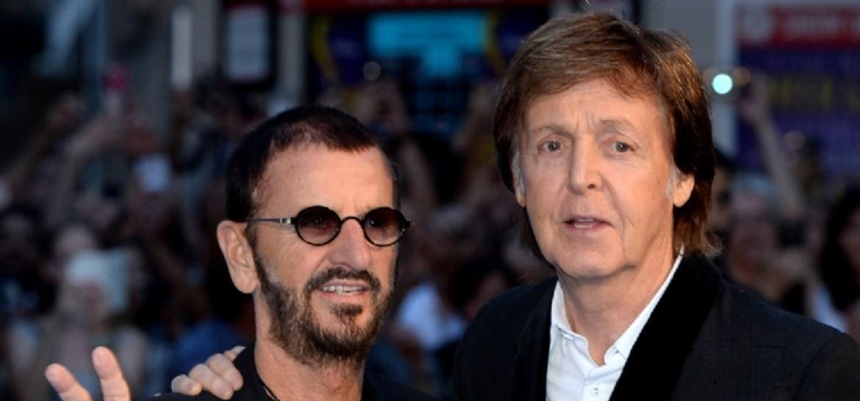 Ringo Starr e Paul McCartney se reúnem para gravar música de John Lennon
