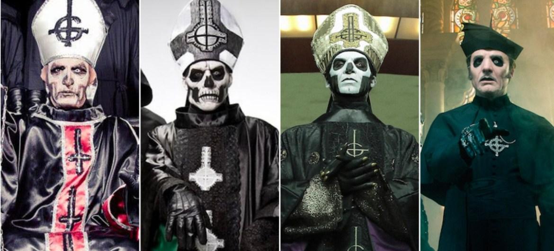 Ghost será liderado por Papa Emeritus IV