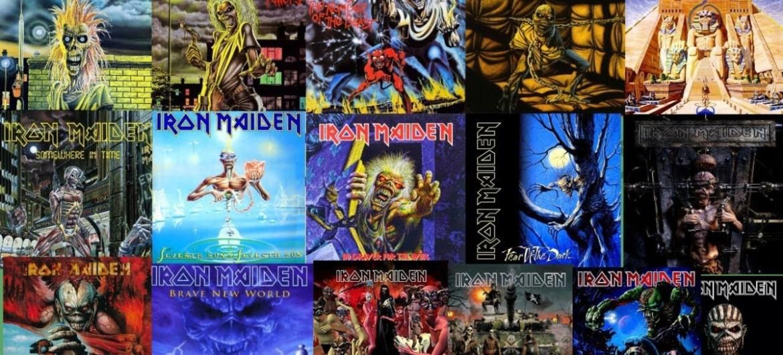 Discografia remasterizada completa do Iron Maiden
