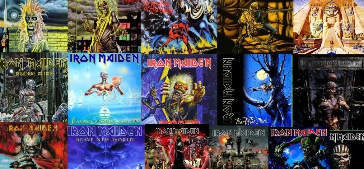 Discografia remasterizada completa do Iron Maiden