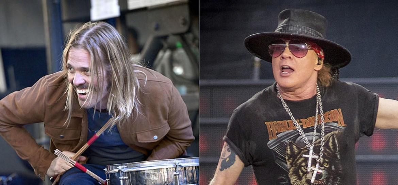 Taylor Hawkins quase saiu do Foo Fighters para se juntar ao Guns N' Roses