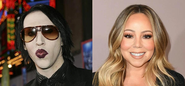 Marilyn Manson e Mariah Carey