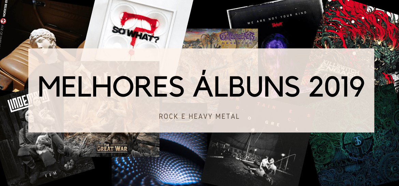 Os 40 melhores álbuns de rock e heavy metal de 2019