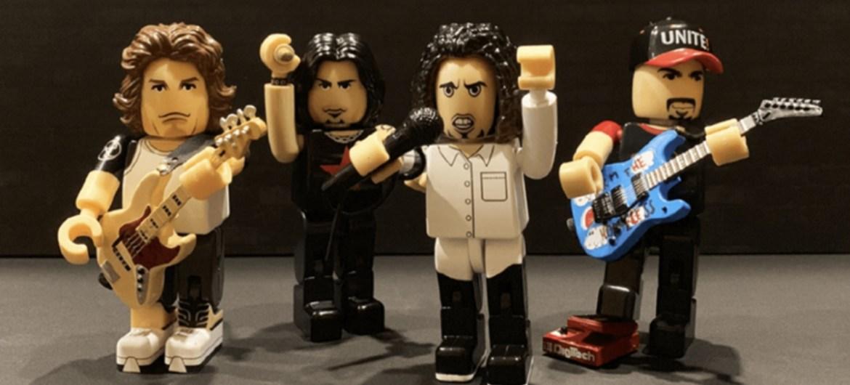 Rage Against The Machine bonecos colecionáveis