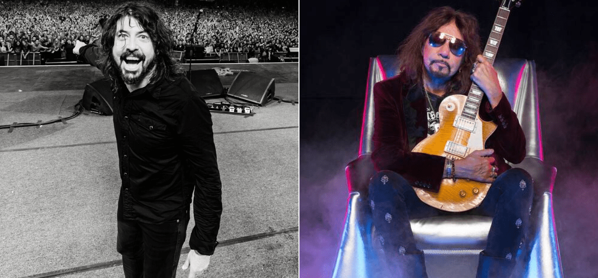 Foo Fighters e Ace Frehley