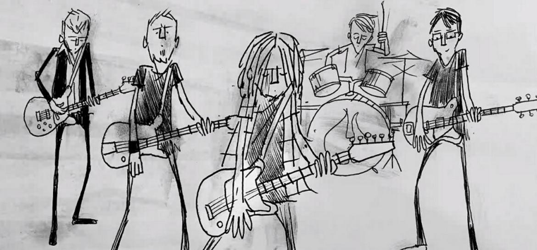 "Pearl Jam lança clipe animado para ""Superblood Wolfmoon"""