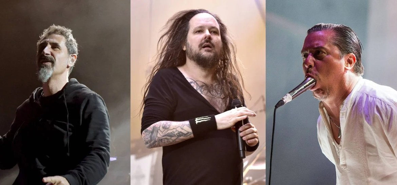 System Of A Down, Korn e Faith No More