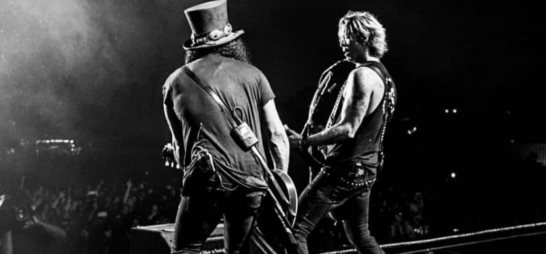 Slash e Duff McKagan
