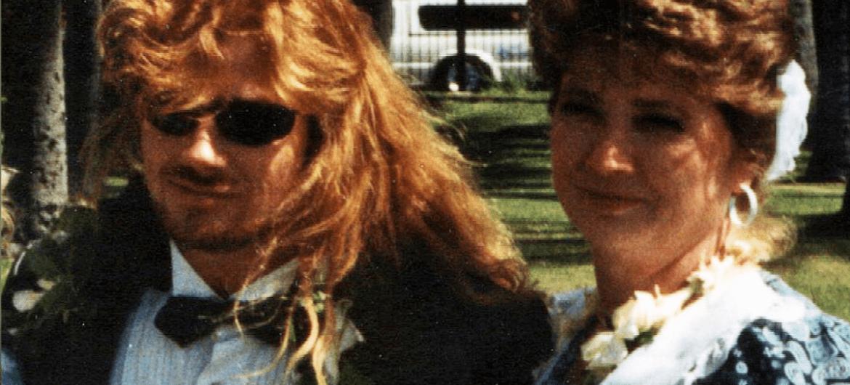 Dave e Michelle Mustaine