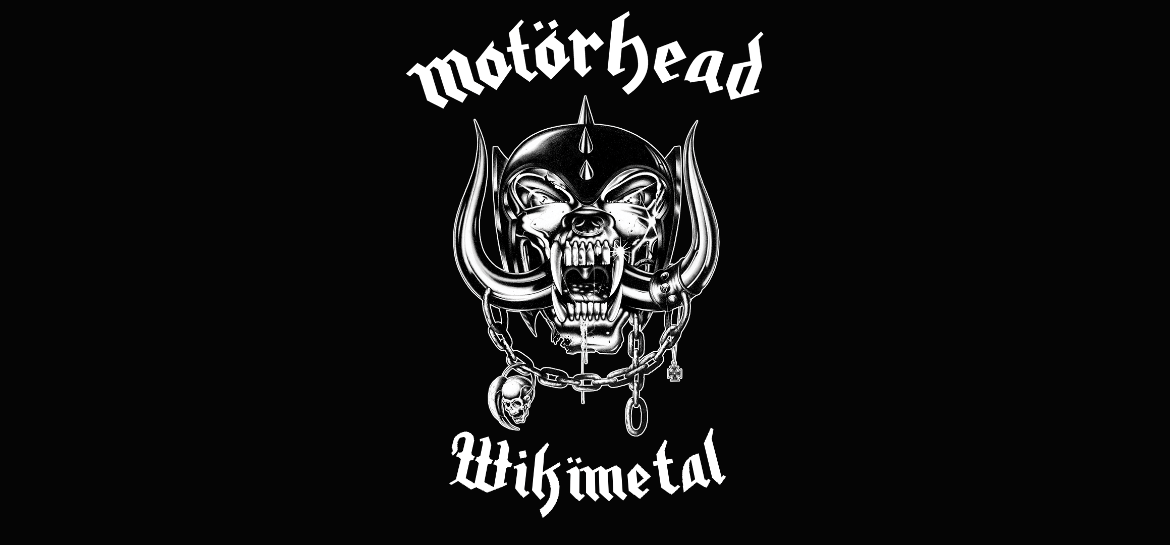 Customização do logotipo do Motörhead com o Wikimetal