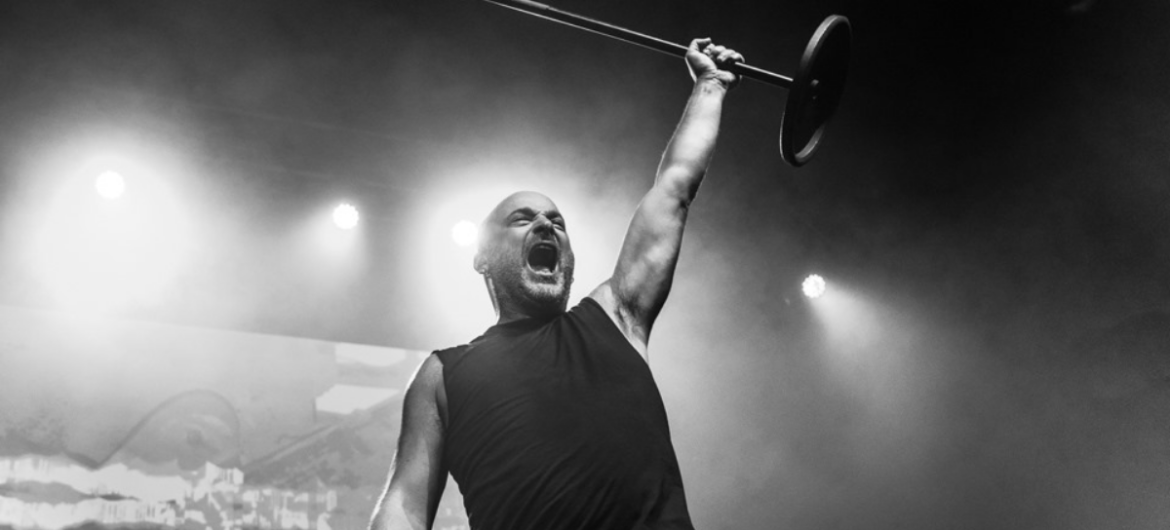 David Draiman, vocalista do Disturbed.