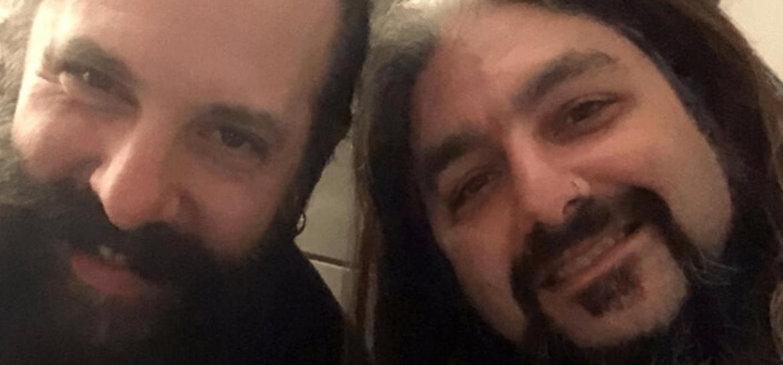 John Petrucci e Mike Portnoy