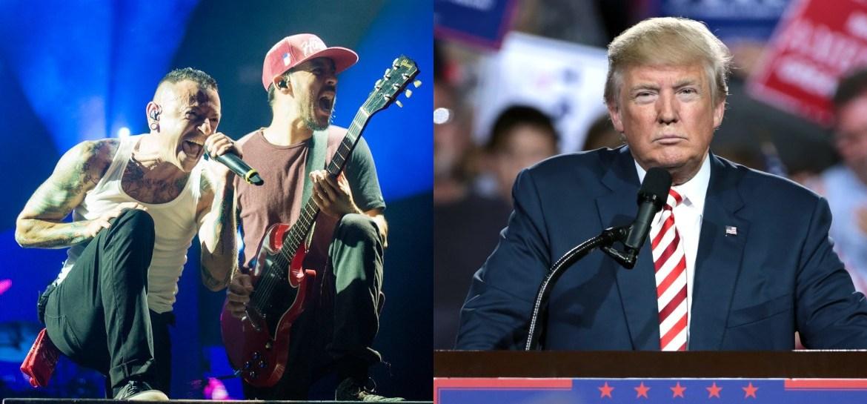 Linkin Park and Donald Trump