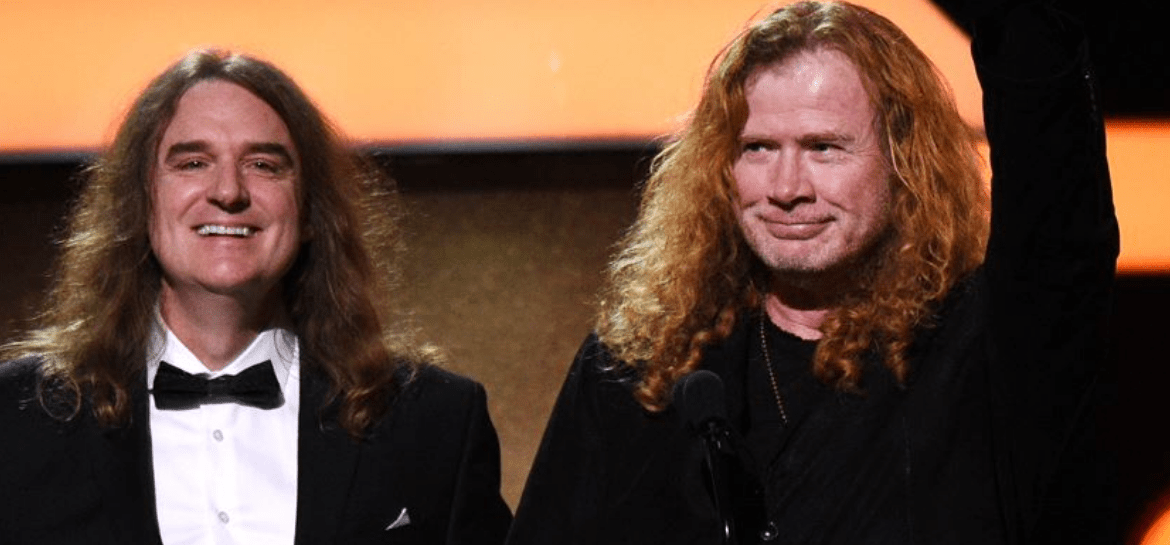 David Ellefson e Dave Mustaine