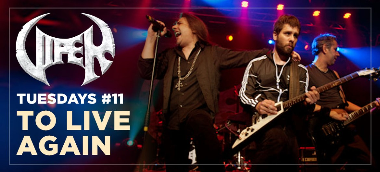 To Live Again - Live In São Paulo - VIPER Tuesdays