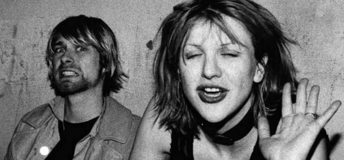 Kurt Cobain e Courtney Love