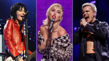 Joan Jett, Miley Cyrus e Billy Idol