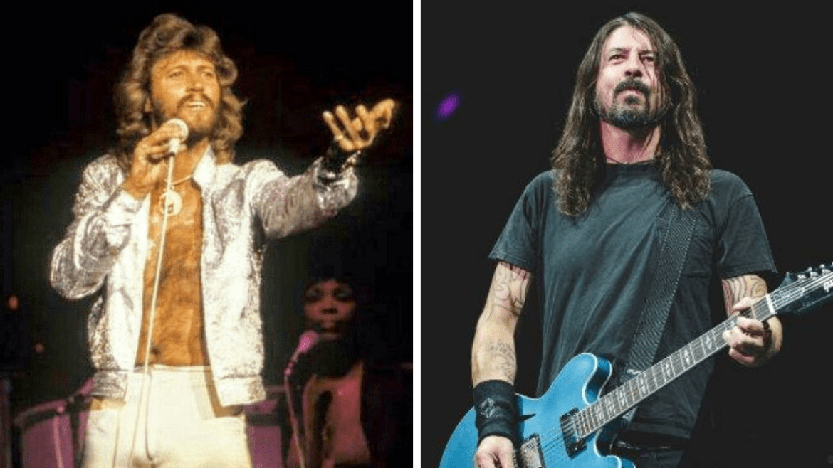Barry Gibb e Dave Grohl