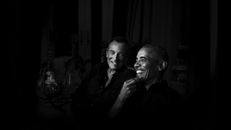 Bruce Springsteen e Barack Obama