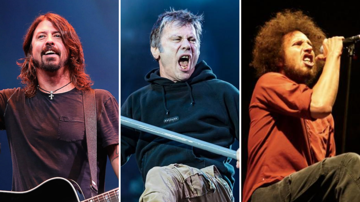 Foo Fighters, Iron Maiden e Rage Against The Machine são indicados para o RRH 2021.