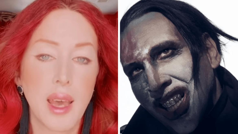Love Bailey e Marilyn Manson