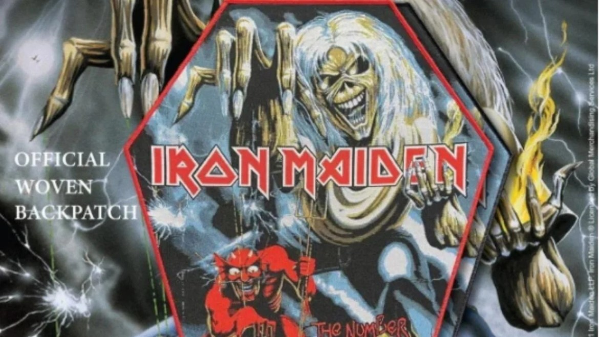 Patch do Iron Maiden