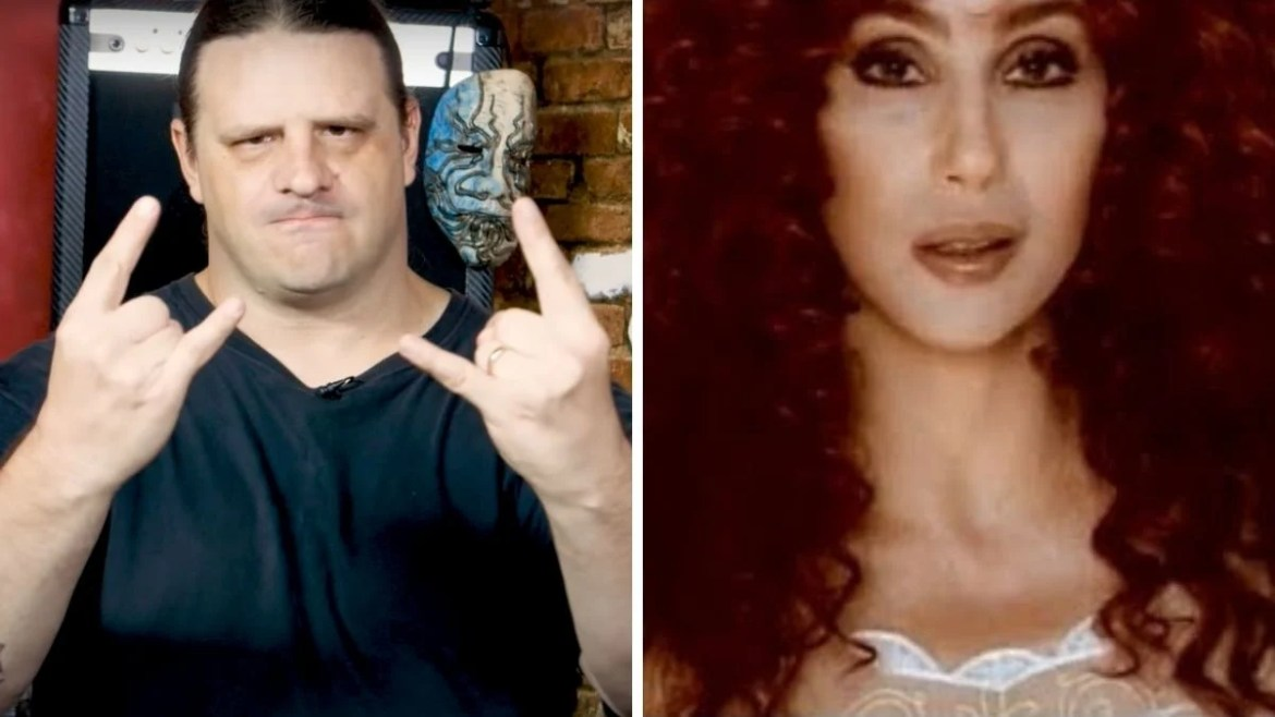 George Corpsegrinder Fisher, do Cannibal Corpse, e Cher