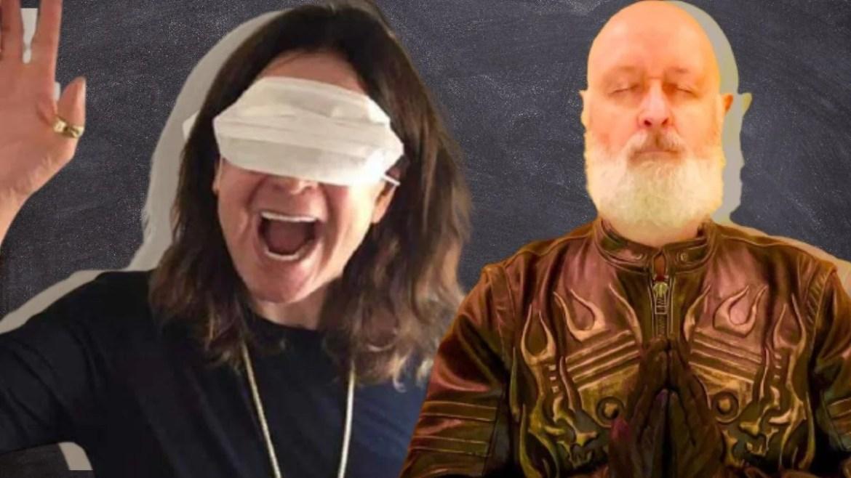 Ozzy Osbourne e Rob Halford