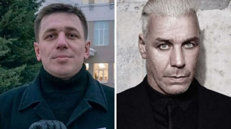 Andrei Borovikov e Till Lindemann