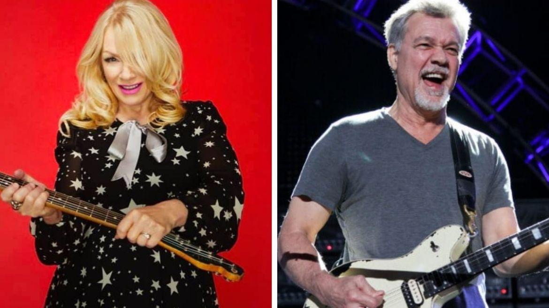 Nancy Wilson e Eddie Van Halen